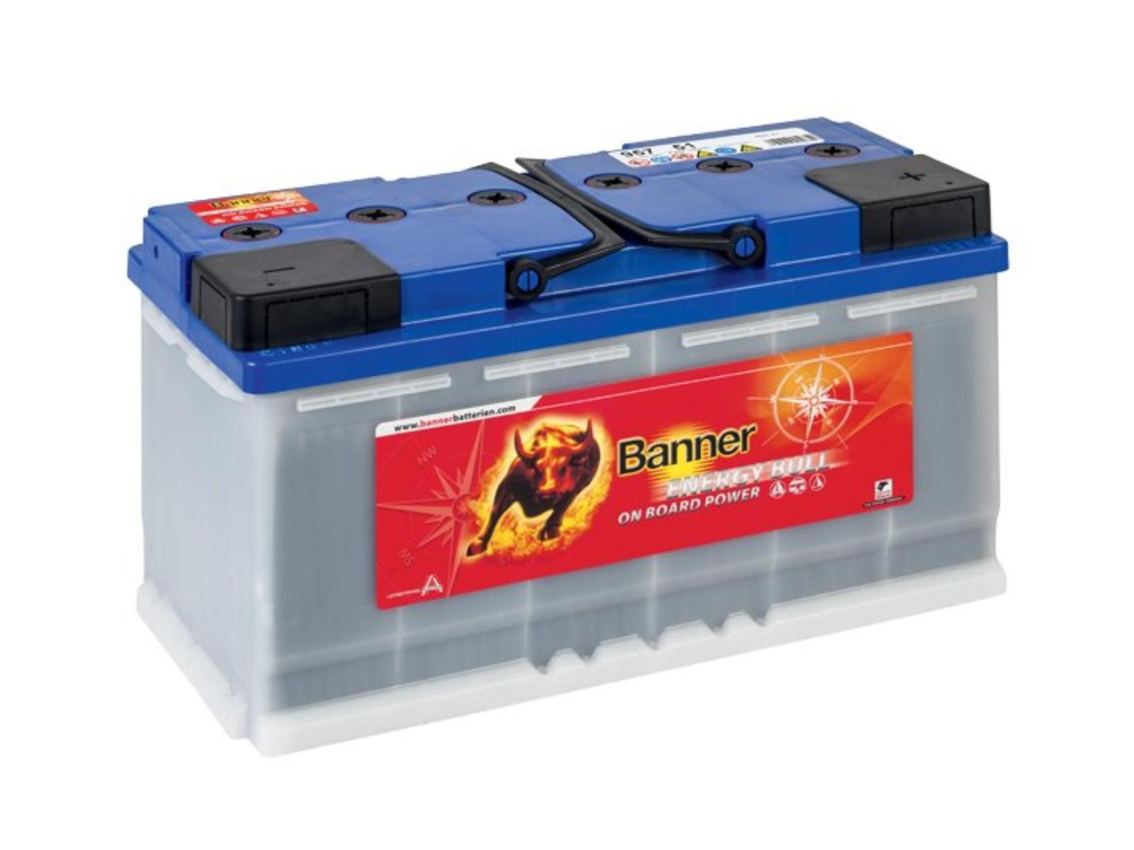 Trakčná batéria BANNER Energy Bull 100Ah