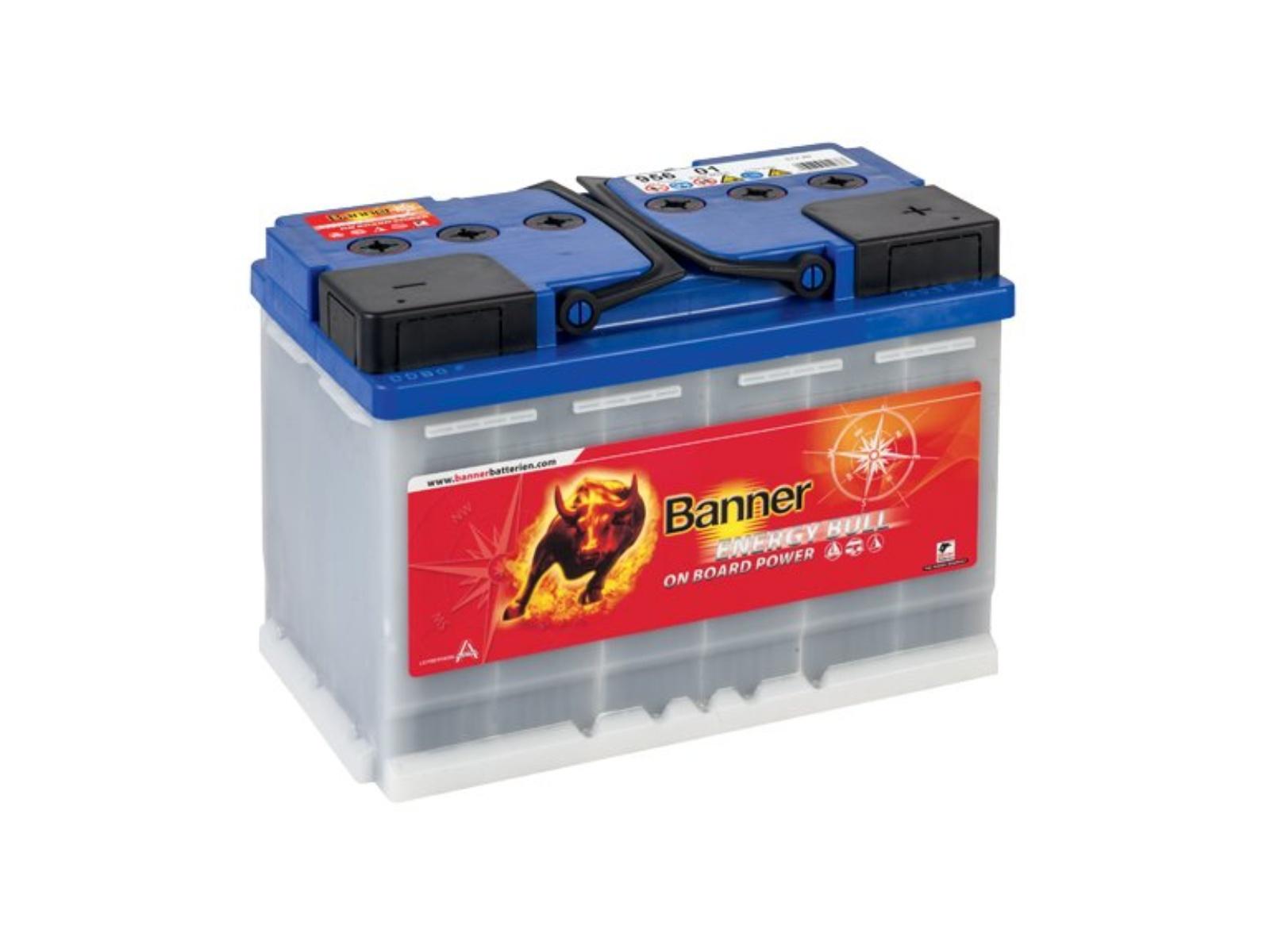 Trakčná batéria BANNER Energy Bull 80Ah