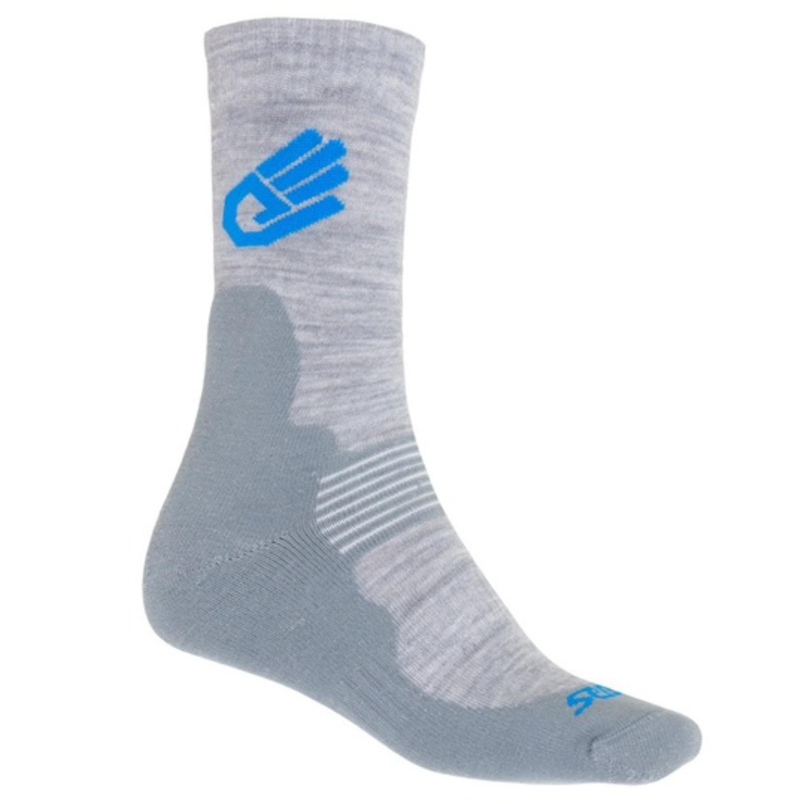 Ponožky SENSOR Expedition Merino Wool šedé veľ. 6-8