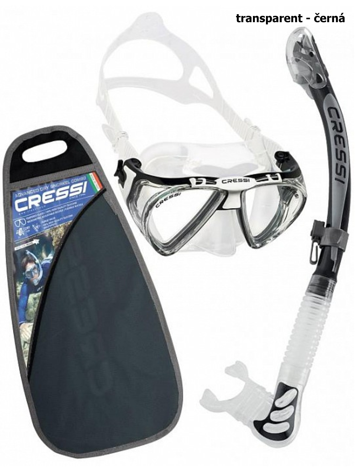 Potápačský set CRESSI Penta+Alpha Ultra Dry