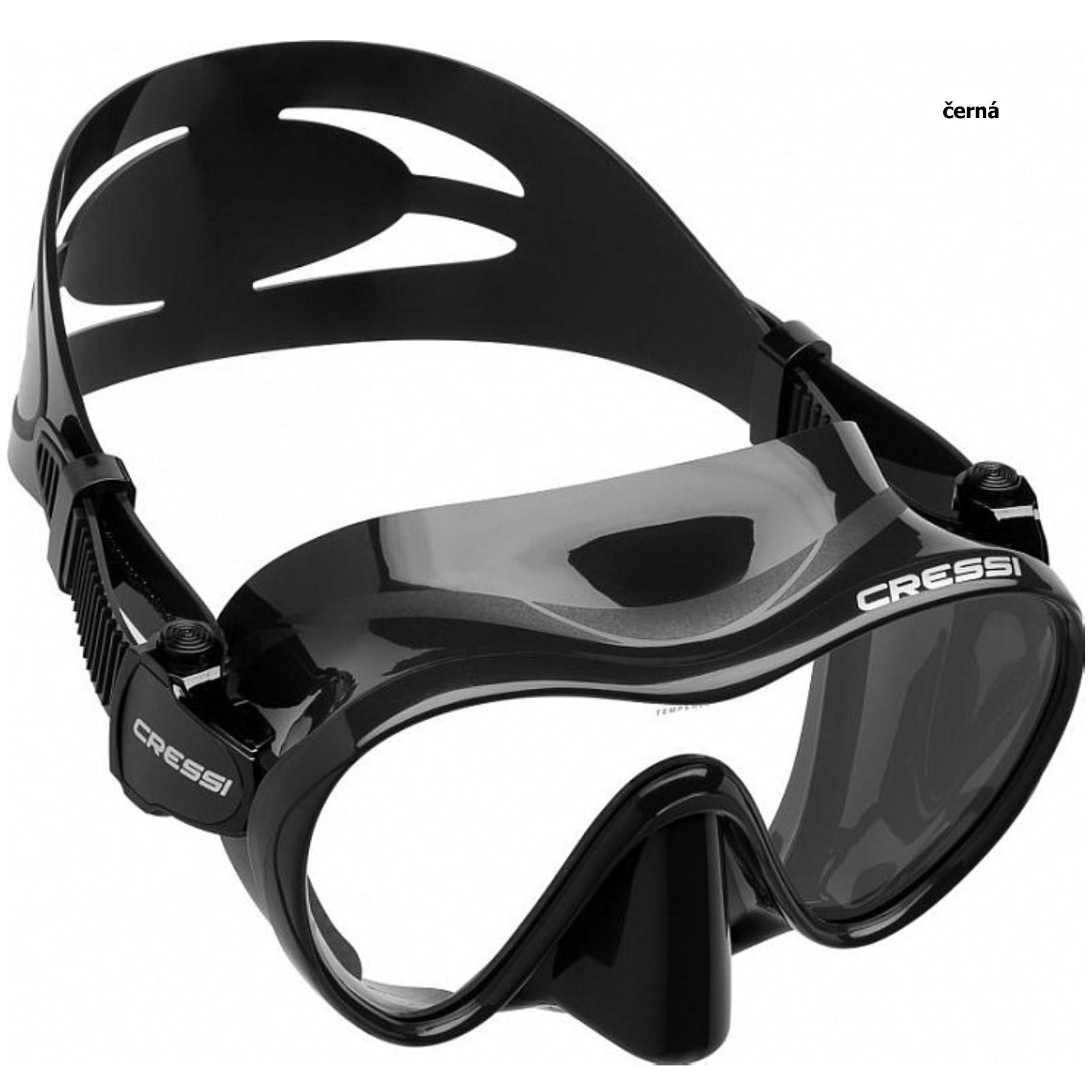 Maska CRESSI F1 - čierna