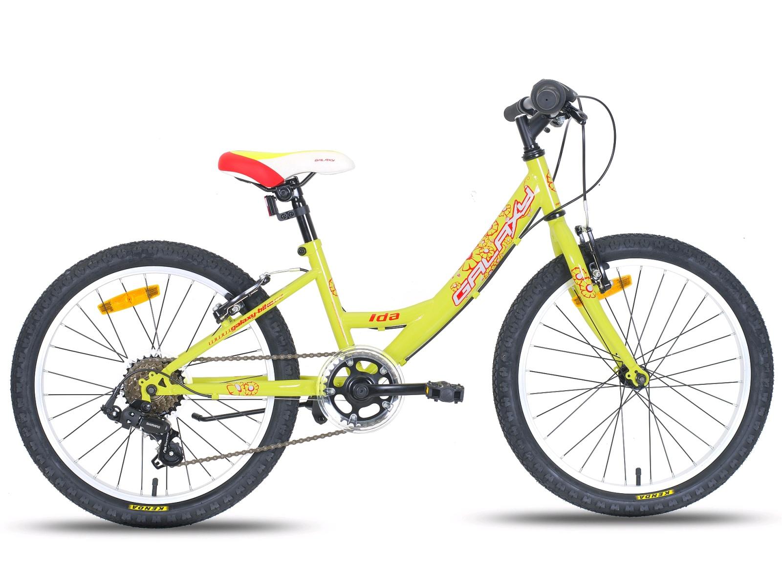 """Detský bicykel GALAXY Ida 20"""" žluté"""