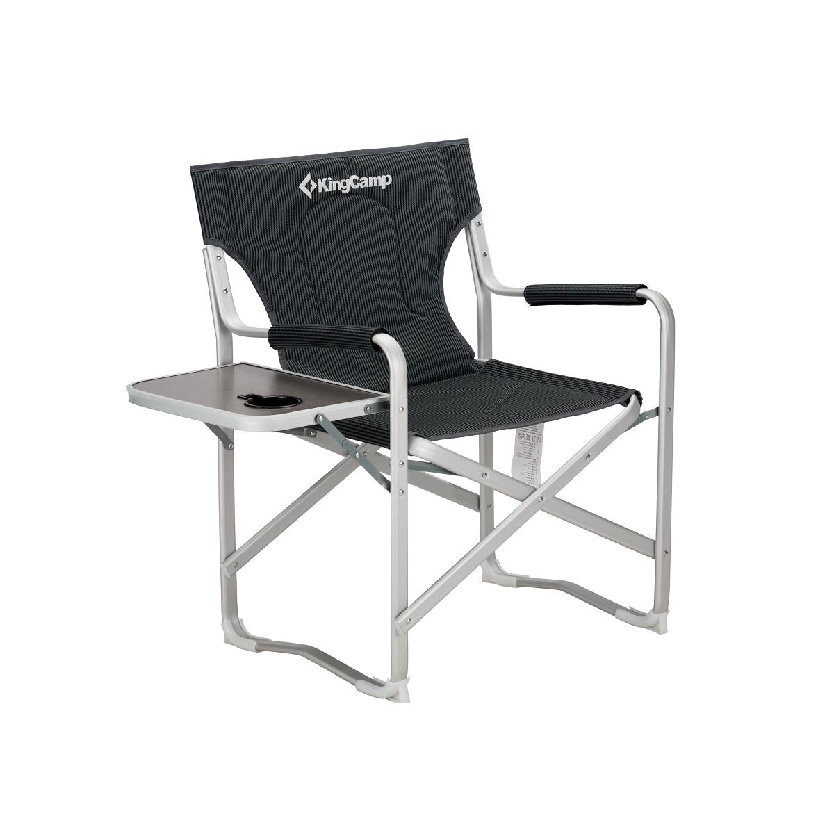 Campingová skladacia stolička KING CAMP Deluxe Director