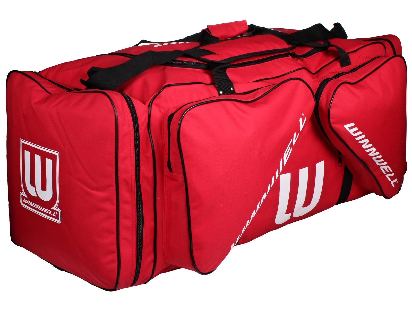 Hokejová taška WINNWELL Carry Bag JR červená