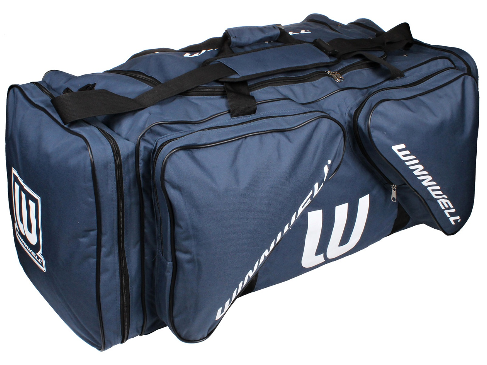 Hokejová taška WINNWELL Carry Bag JR tmavo-modrá