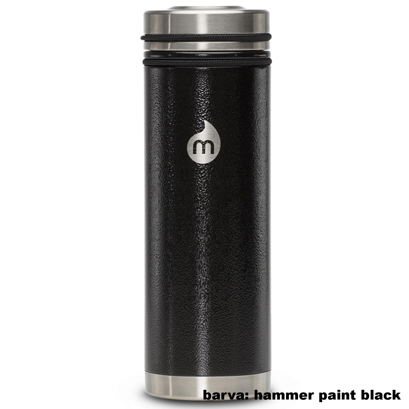 Termoska MIZU V7 V-Lid 0,7 l - čierna