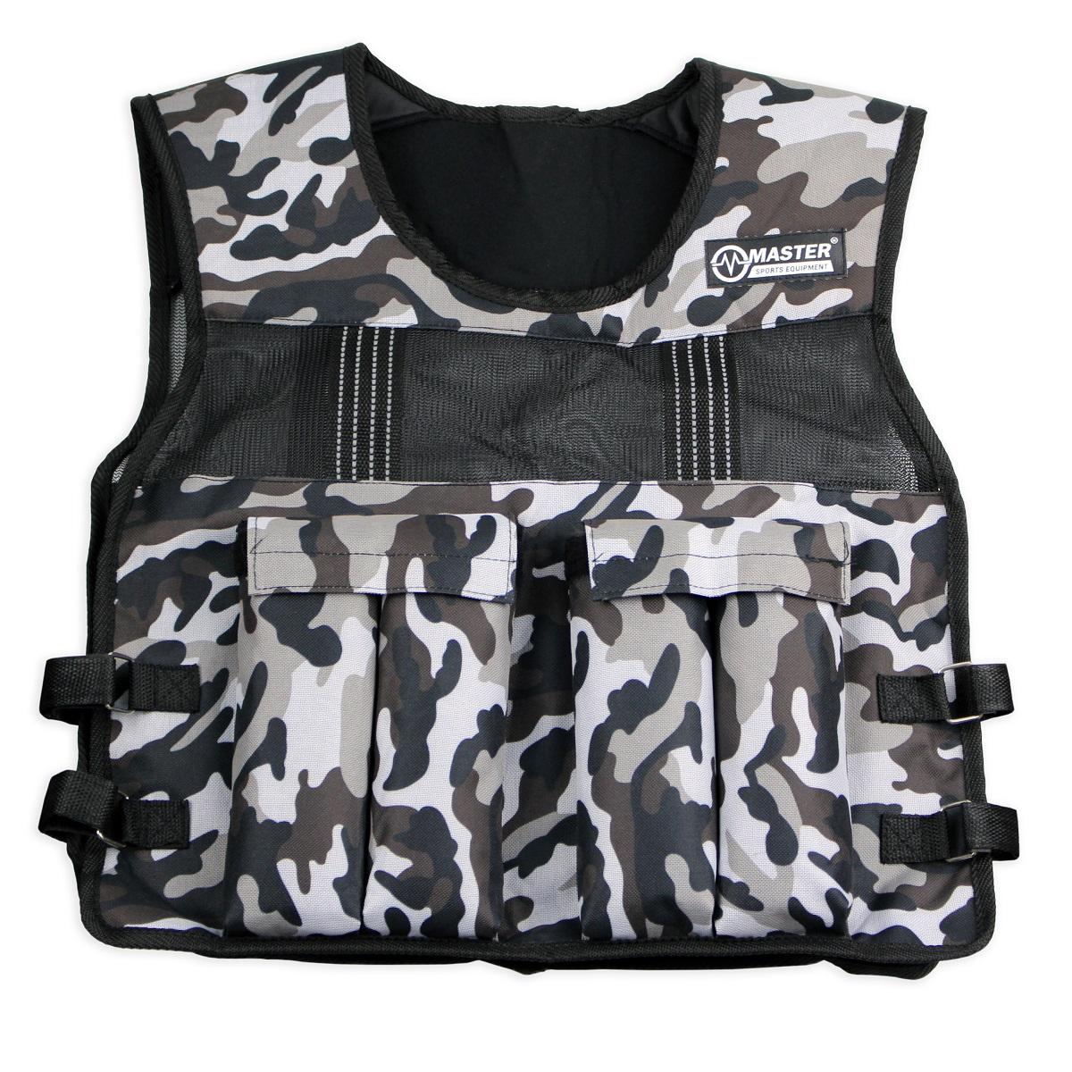 Záťažová vesta MASTER Weight Vest - 10 kg