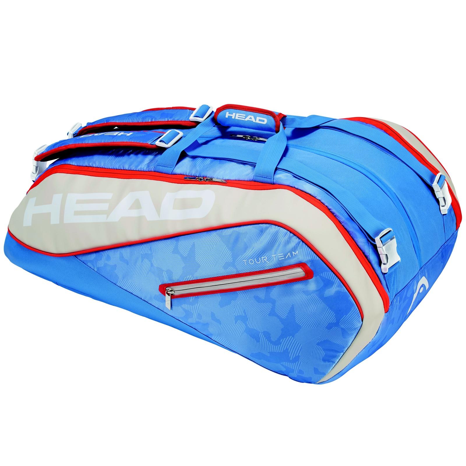 Tenisová taška HEAD Tour 12R Monstercombi - modrá