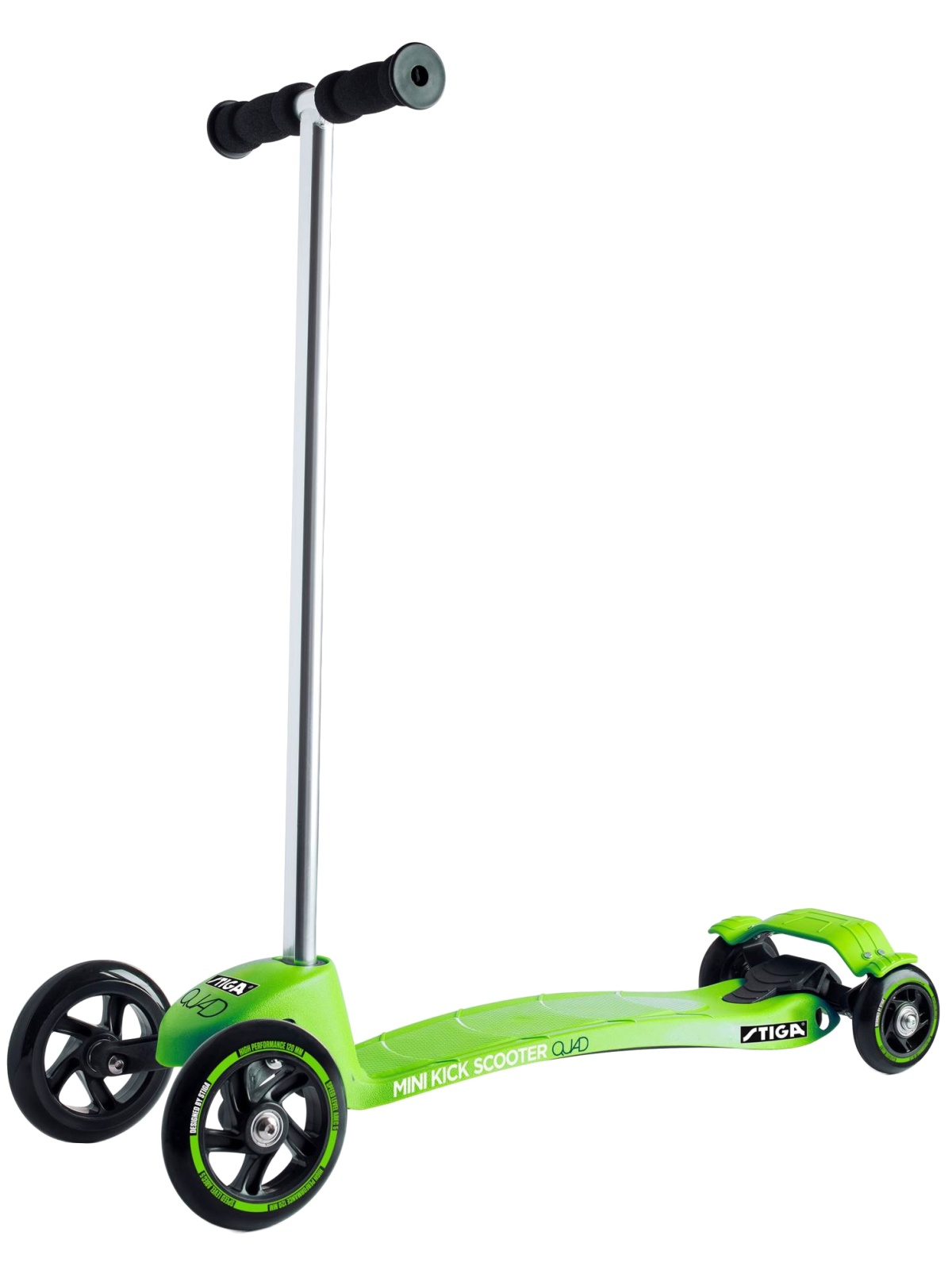 Kolobežka STIGA Mini Kick Quad zelená
