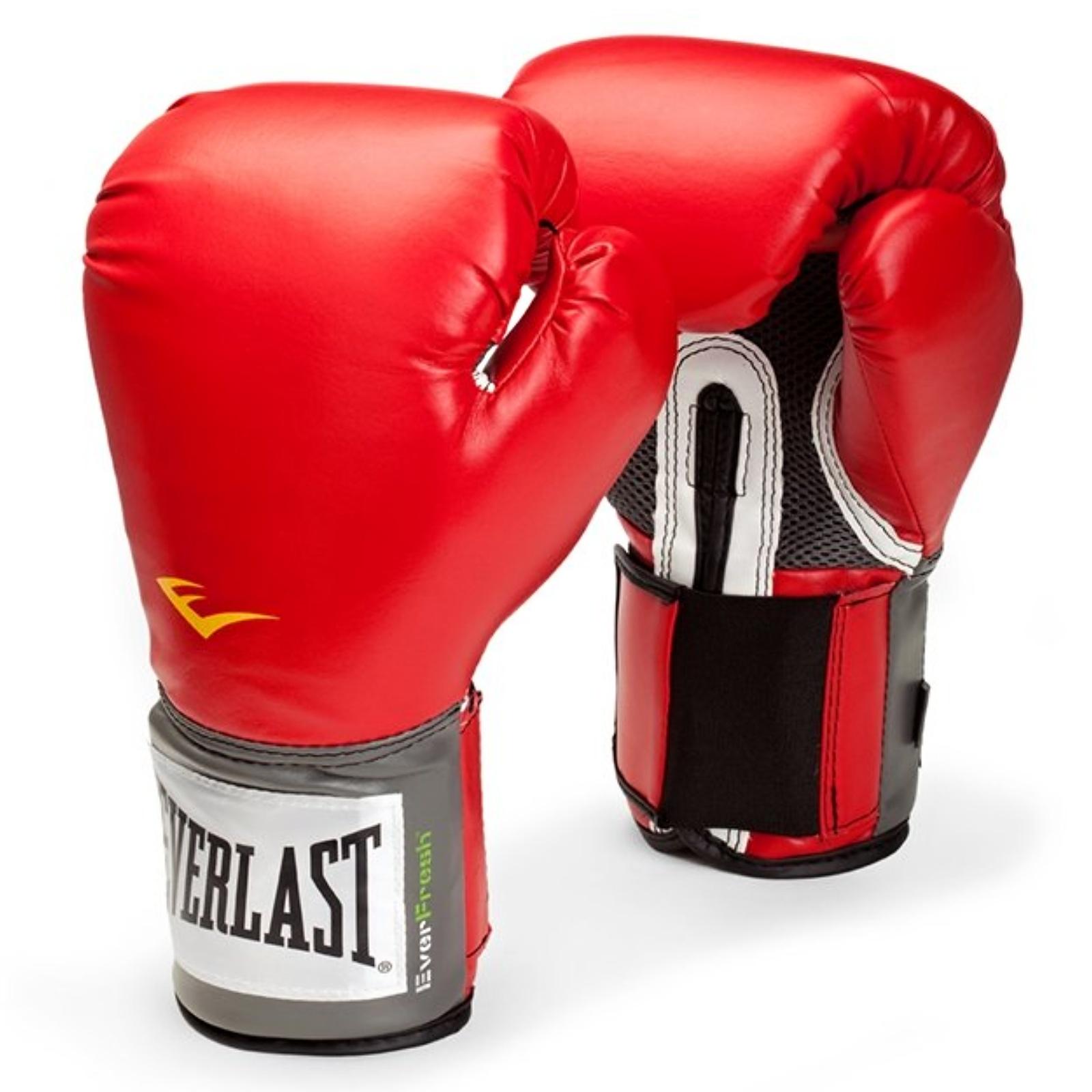 Boxerské rukavice EVERLAST Pro Style - červené 14oz.