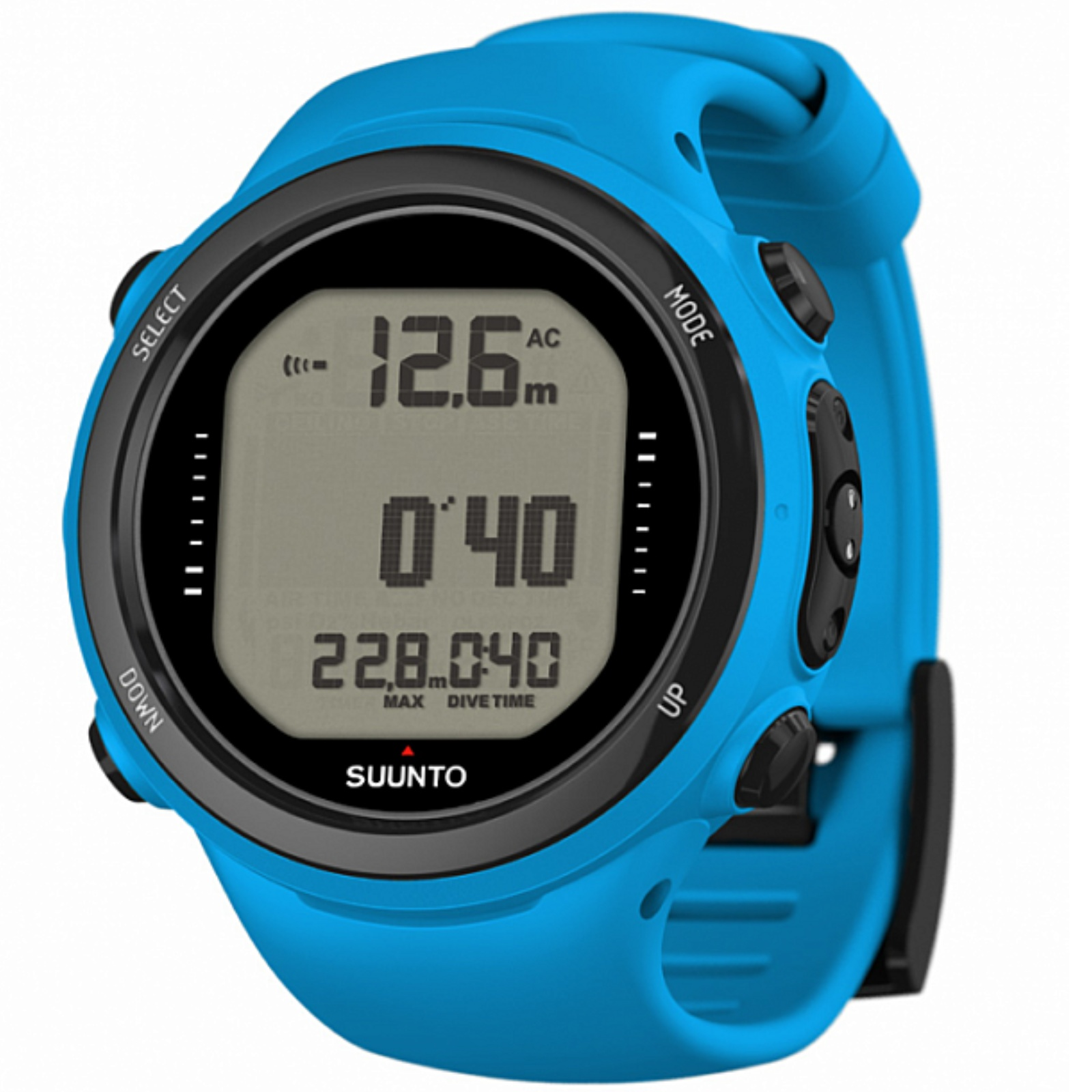 Potápačský počítač SUUNTO D4i Novo + USB modrý