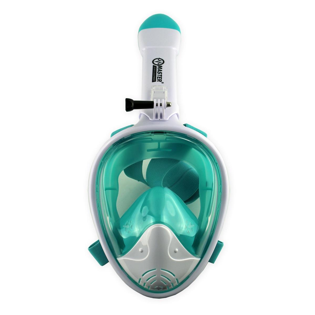 Celotvárová maska MASTER biela - veľ. L-XL