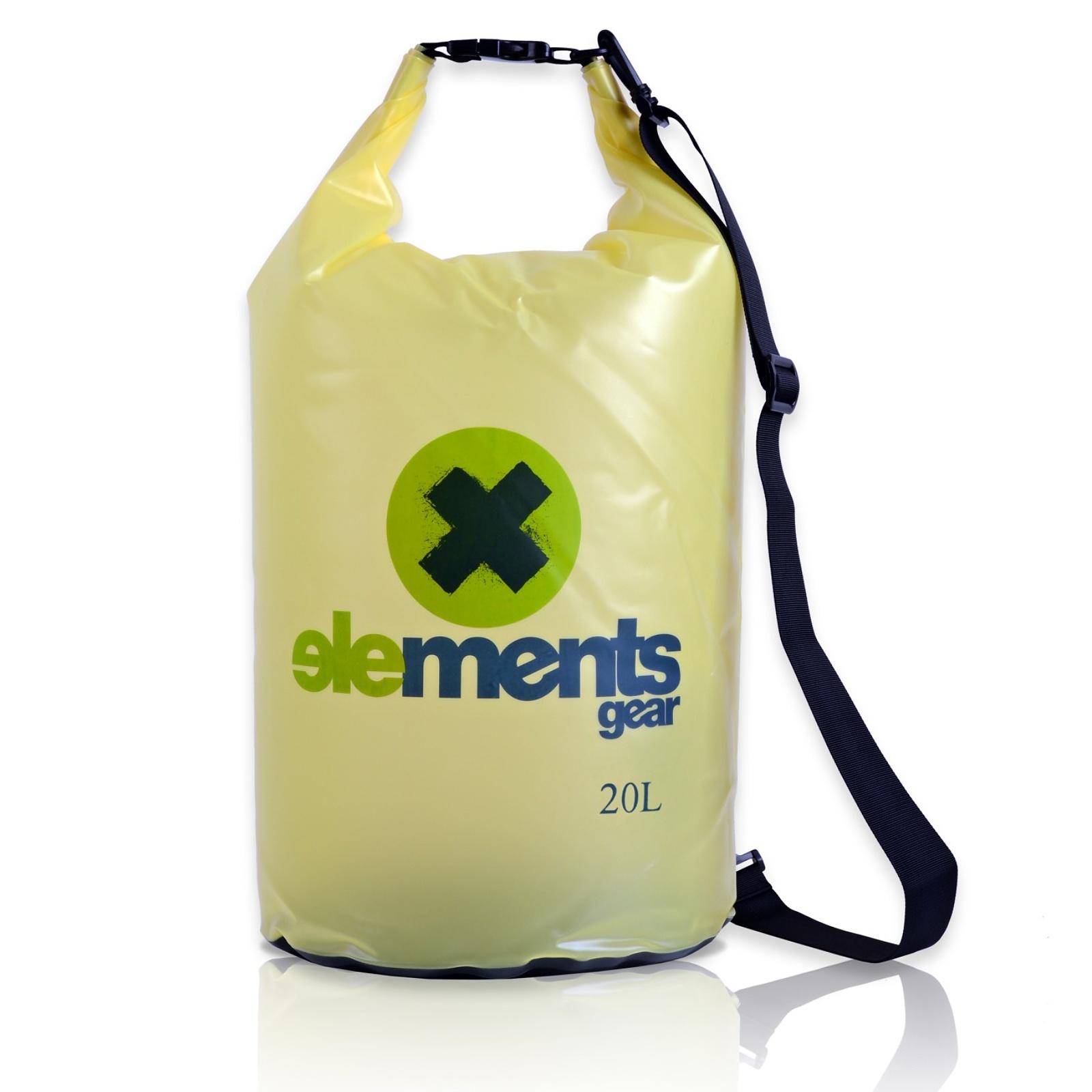 Lodný vak ELEMENTS GEAR Pro 20 L - limetkový