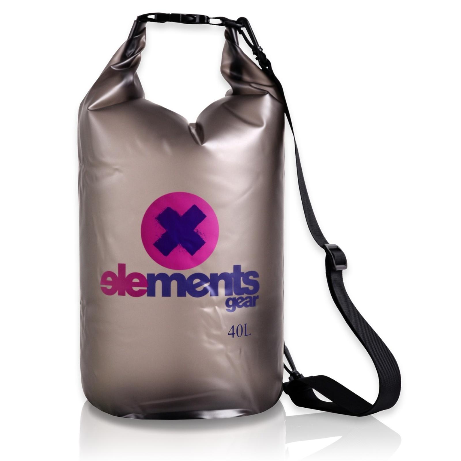 Lodný vak ELEMENTS GEAR Pro 40 L - sivý