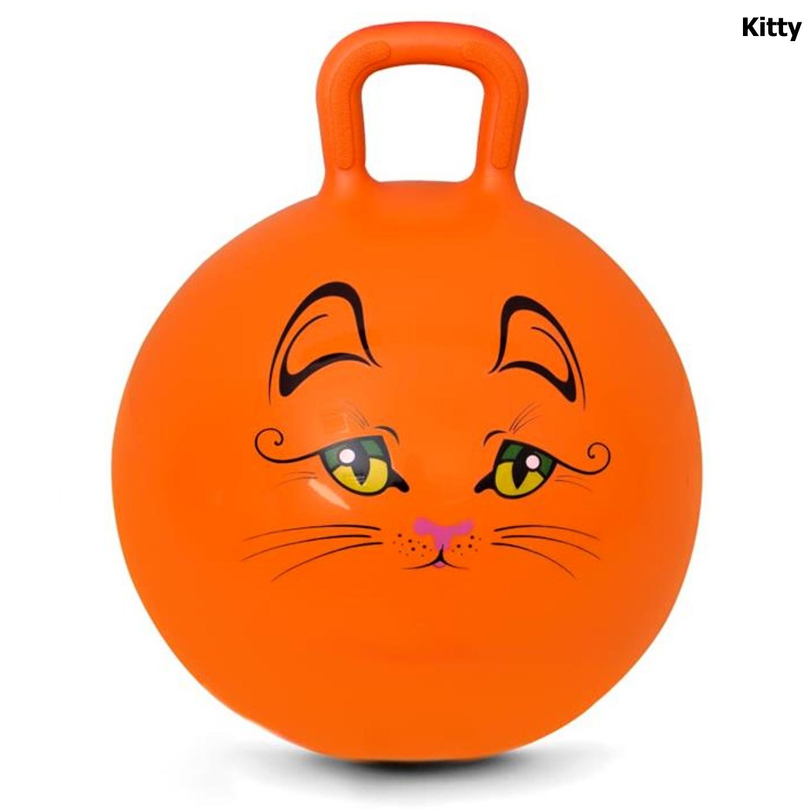 Spokey KITTY Skákacia lopta 45 cm