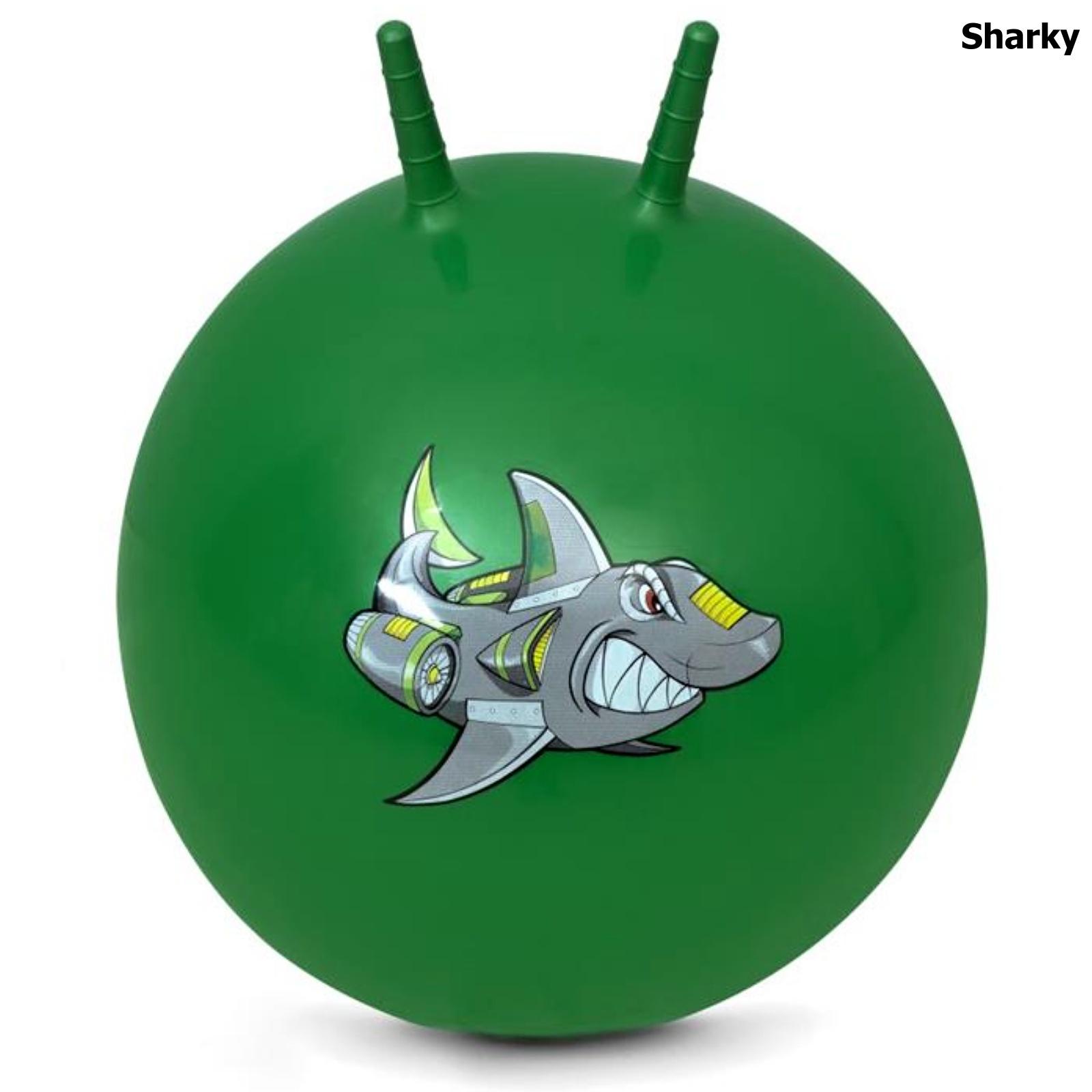 Spokey Skákacia lopta SHARKY 60 cm