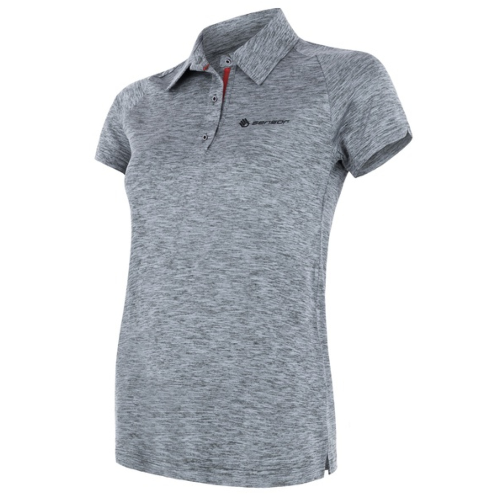 Tričko krátky rukáv SENSOR Motion dámske sivé