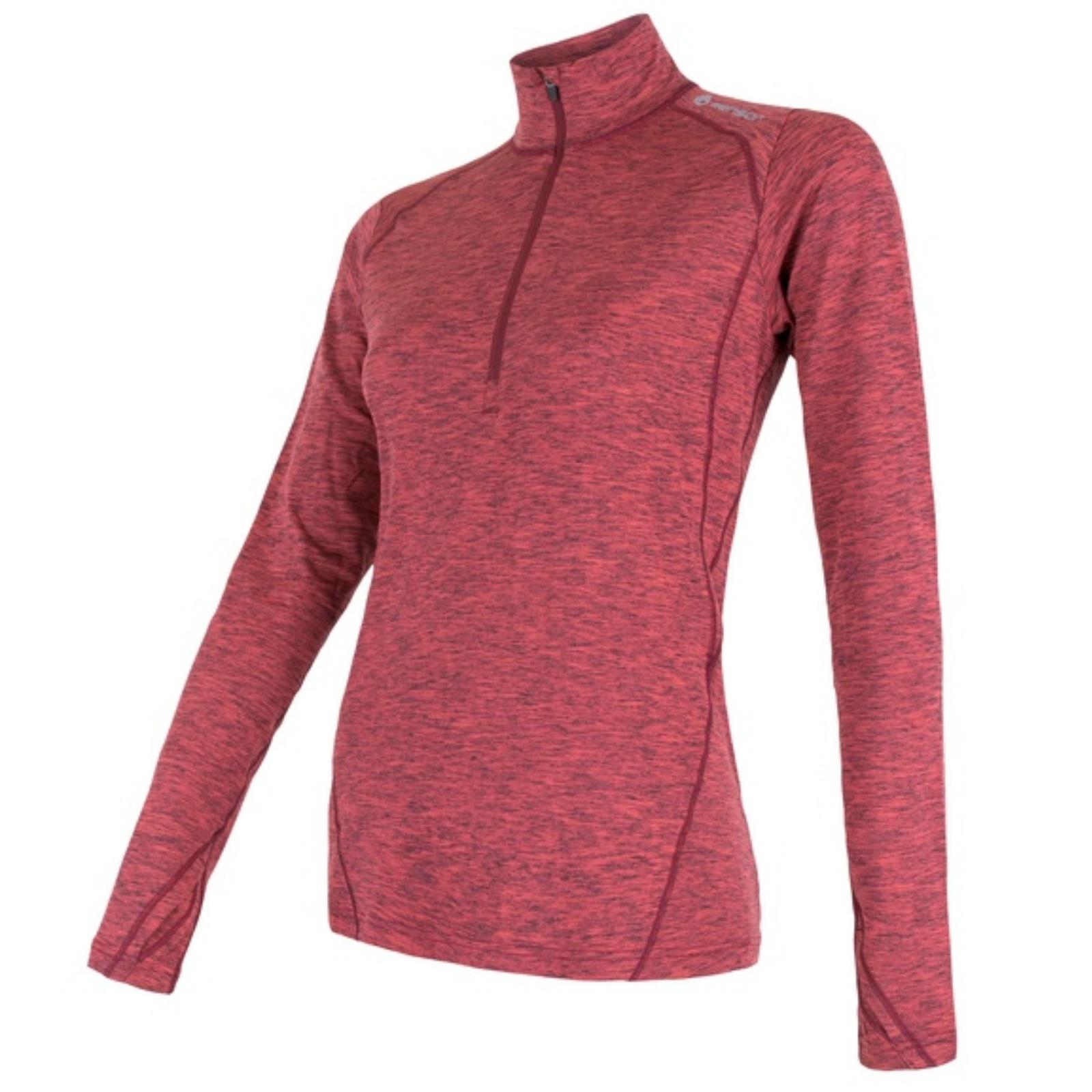 Tričko dlhý rukáv SENSOR Motion dámske ružové