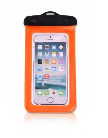 Vodotesný obal na mobil ELEMENTS GEAR - oranžový