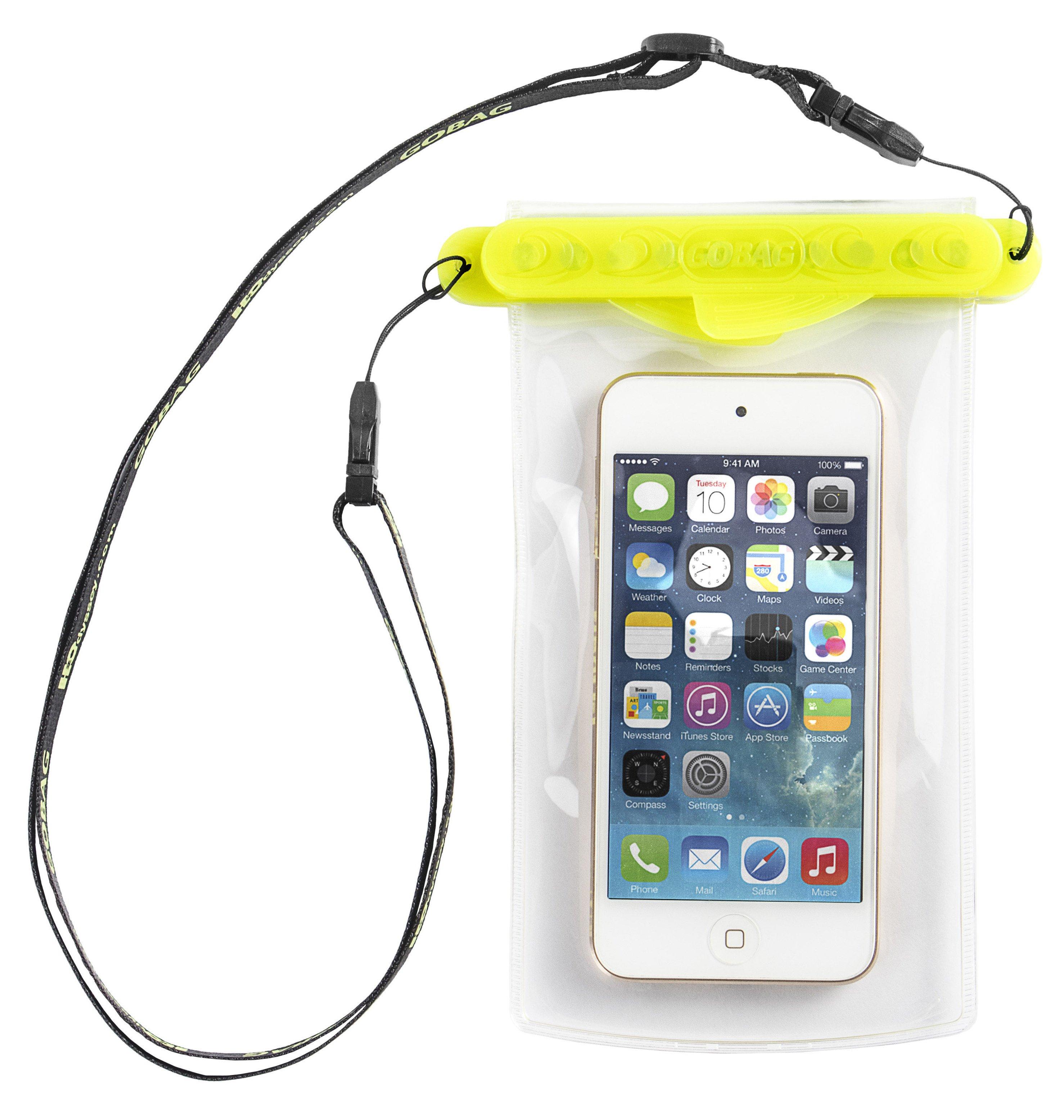 Vodotesné puzdro Pocket GOOPER - žlté