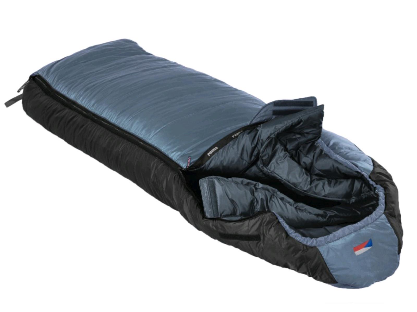 Spací vak PRIMA Makalu 230 Comfortable šedý - ľavý zips