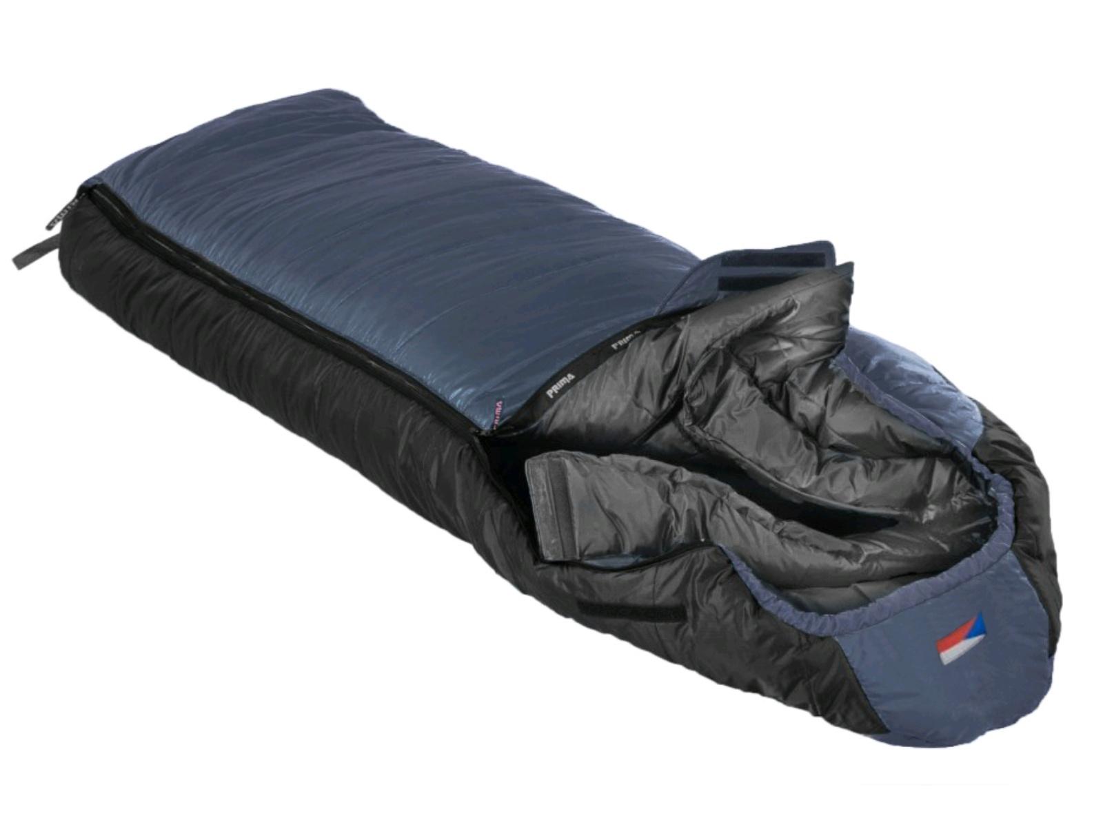 Spací vak PRIMA Makalu 230 Comfortable modrý - ľavý zips