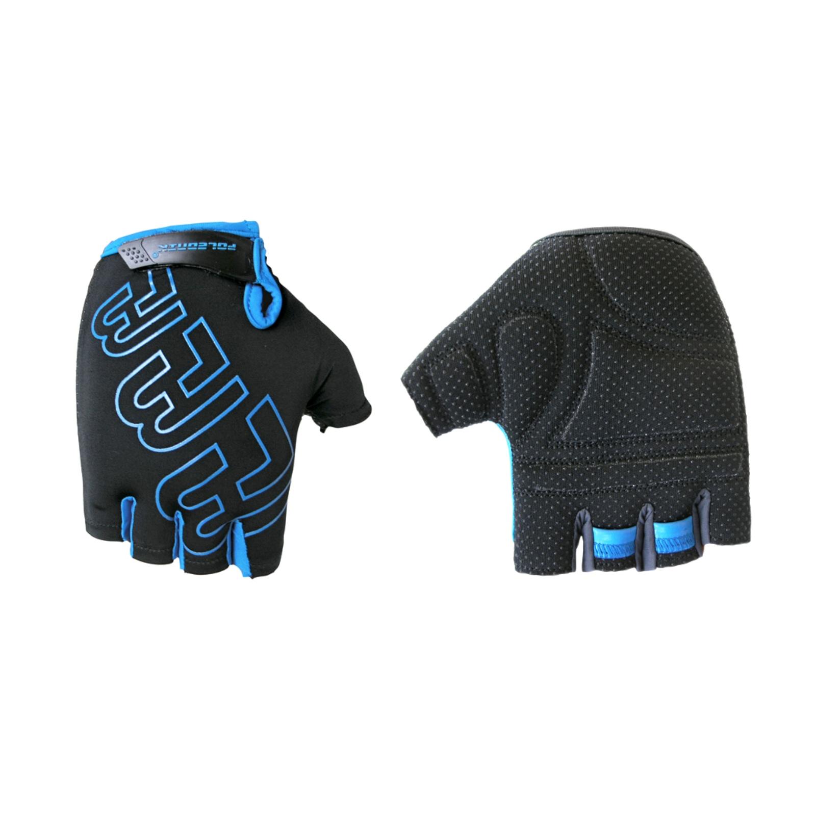 Cyklo rukavice POLEDNIK Pánske F3 čierno-modrá, veľ. M