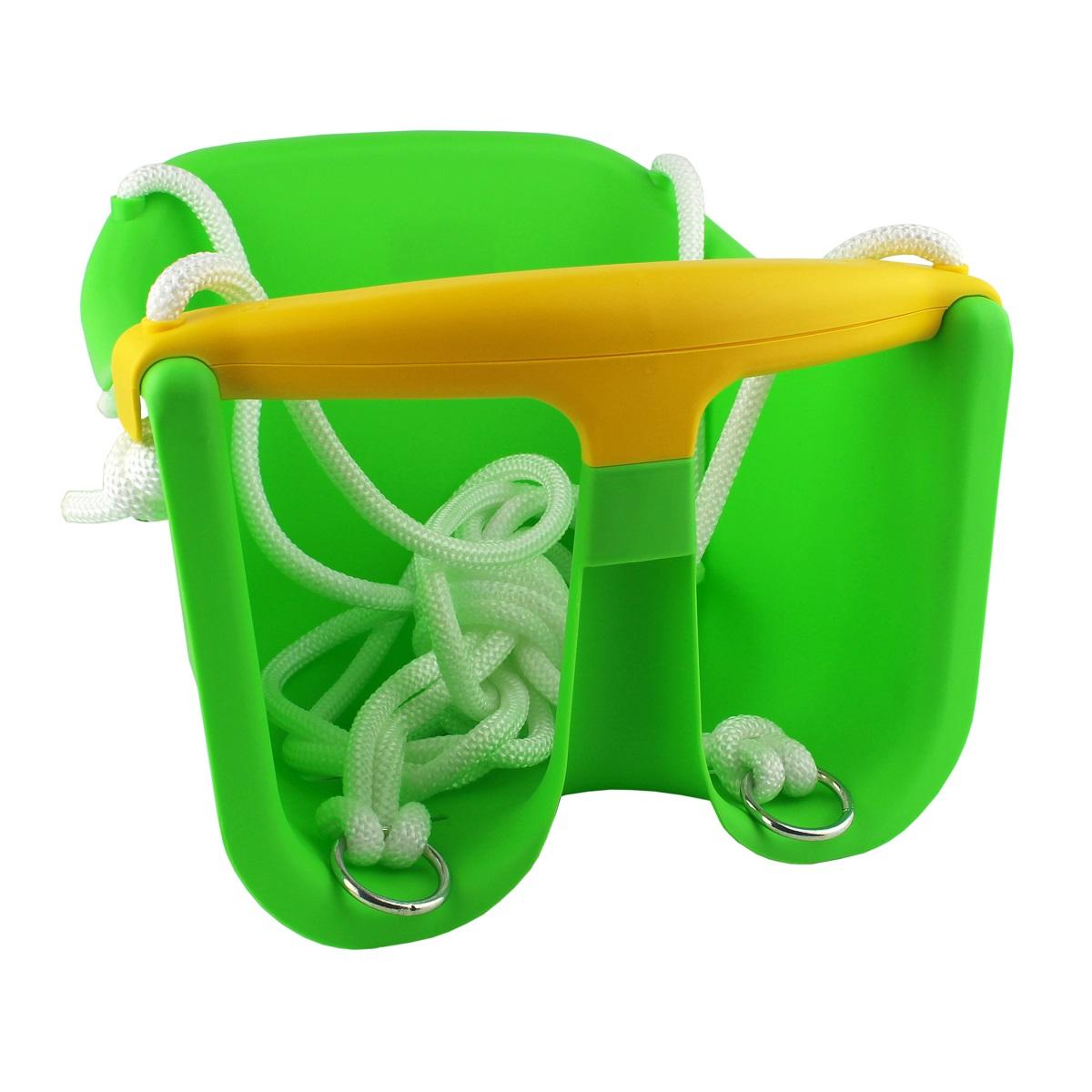 Detská hojdačka MASTER Baby plast - zelená