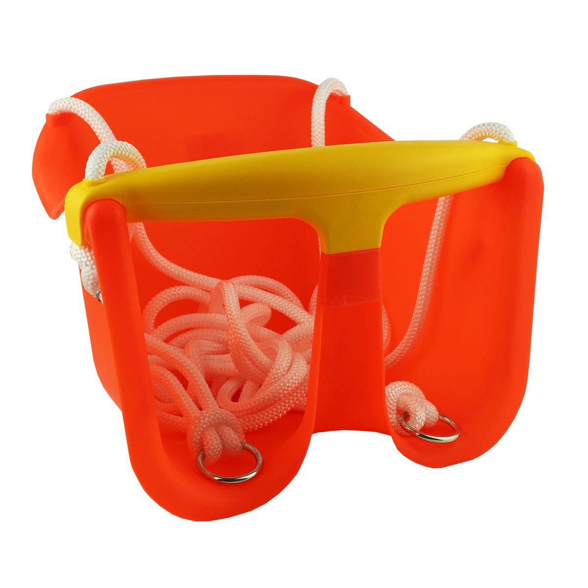Detská hojdačka MASTER Baby plast - oranžová