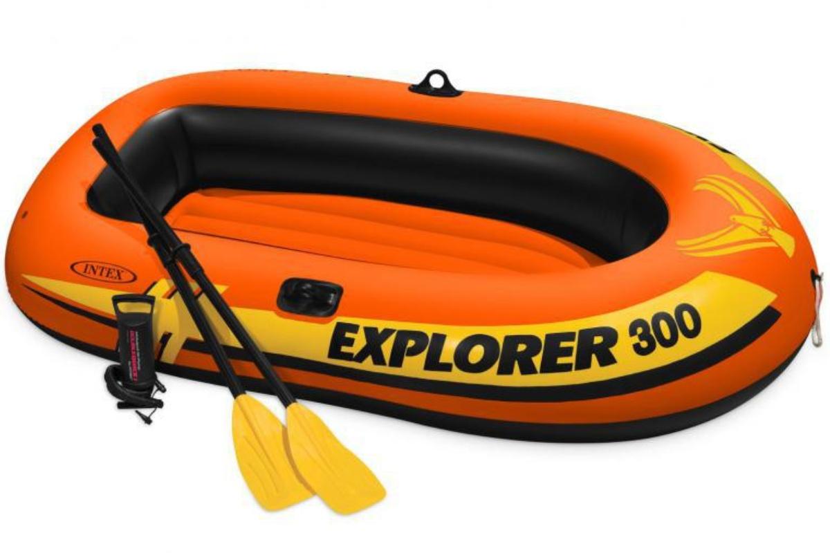 Nafukovací čln INTEX Explorer Pro 300 Set
