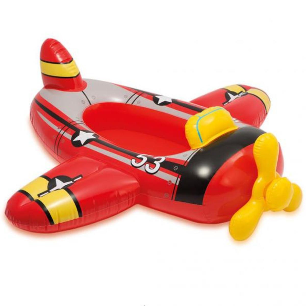 Nafukovací čln pre deti INTEX Pool Cruisers - lietadlo