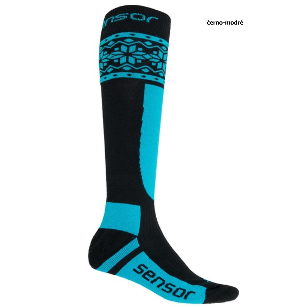 Sensor ponožky THERMOSNOW NORWAY -modrá