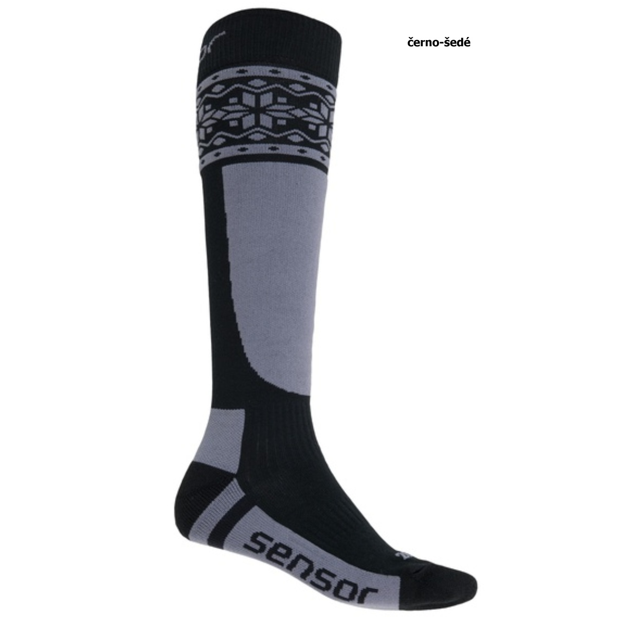 Sensor ponožky THERMOSNOW NORWAY černá-šedá