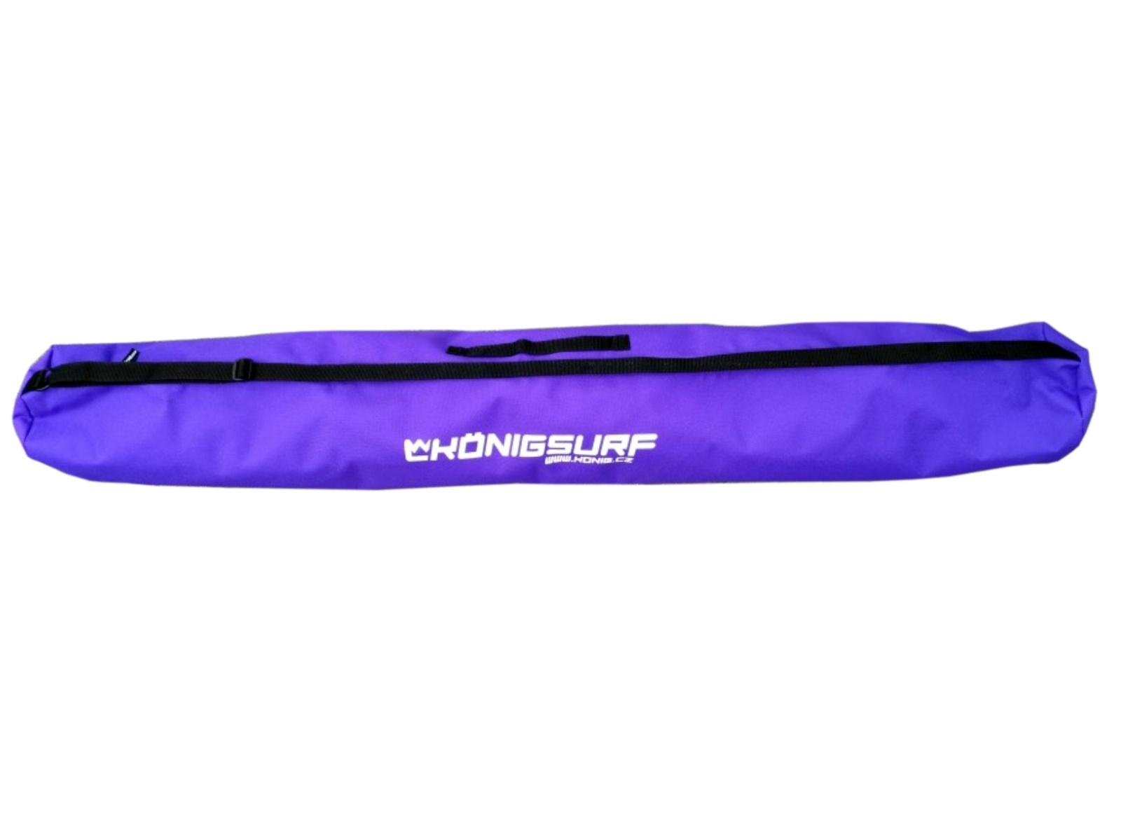 Obal na dětské lyže KÖNIG Tubus Junior fialový - vel. 120 cm