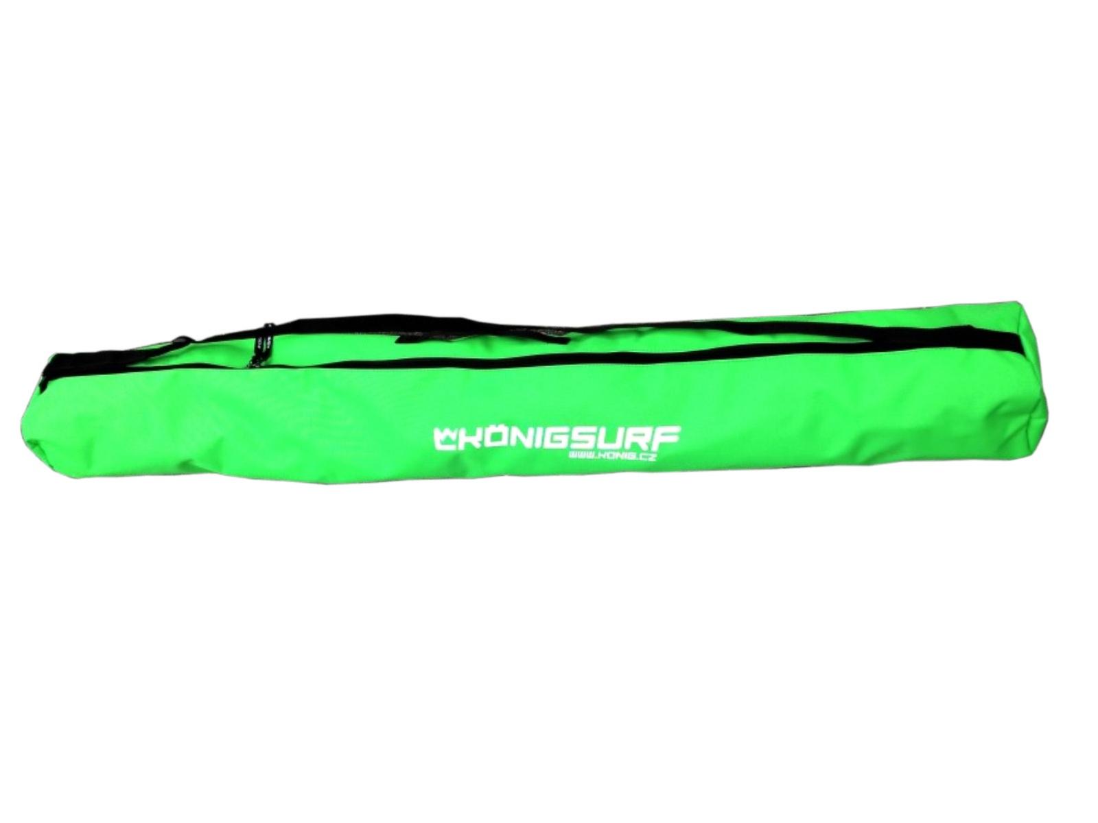 Obal na dětské lyže KÖNIG Tubus Junior zelený - vel. 120 cm