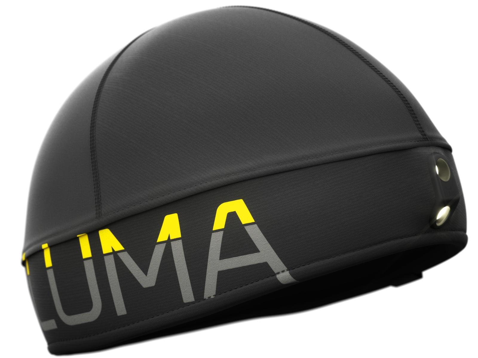 Čiapka LUMA Active Led Light čierna - veľ. S-M