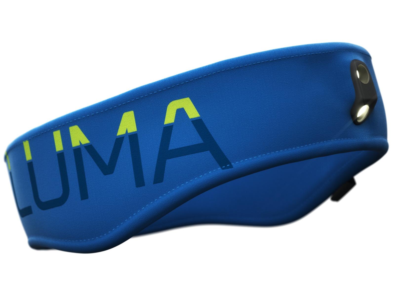 Čelenka LUMA Active Led Light modrá - veľ. S-M