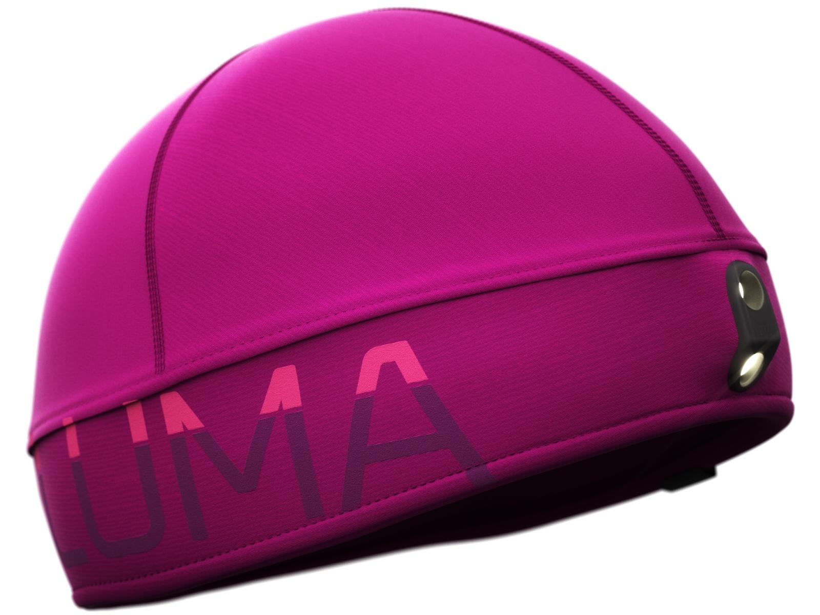 Čiapka LUMA Active Led Light fialová - veľ. S-M