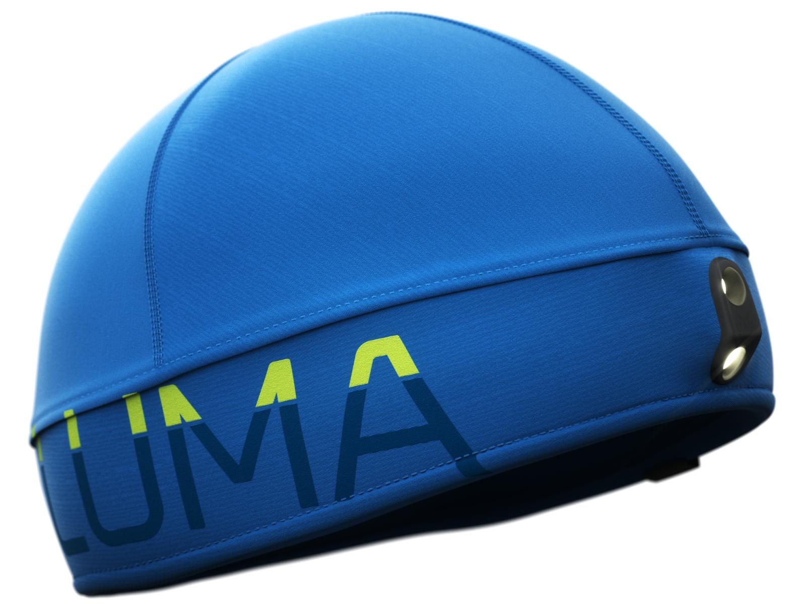 Čiapka LUMA Active Led Light modrá - veľ. S-M