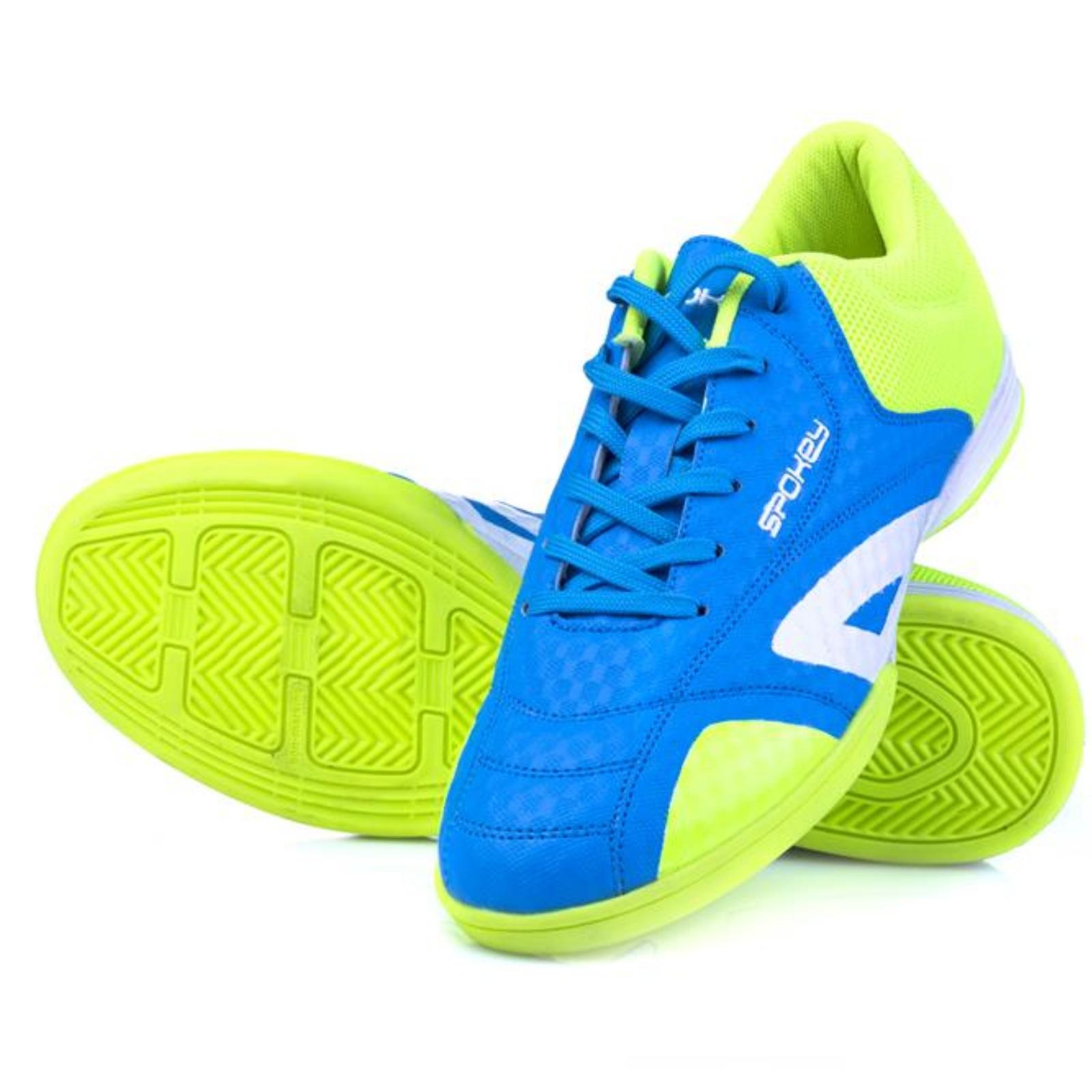 Sálová obuv SPOKEY Hall modro-žltá veľ. 38