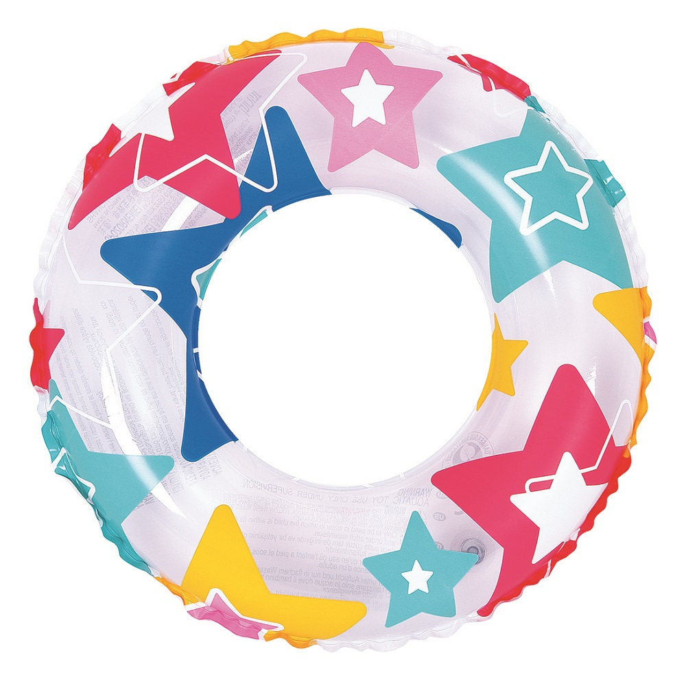 Nafukovací kruh Colorful - 50 cm