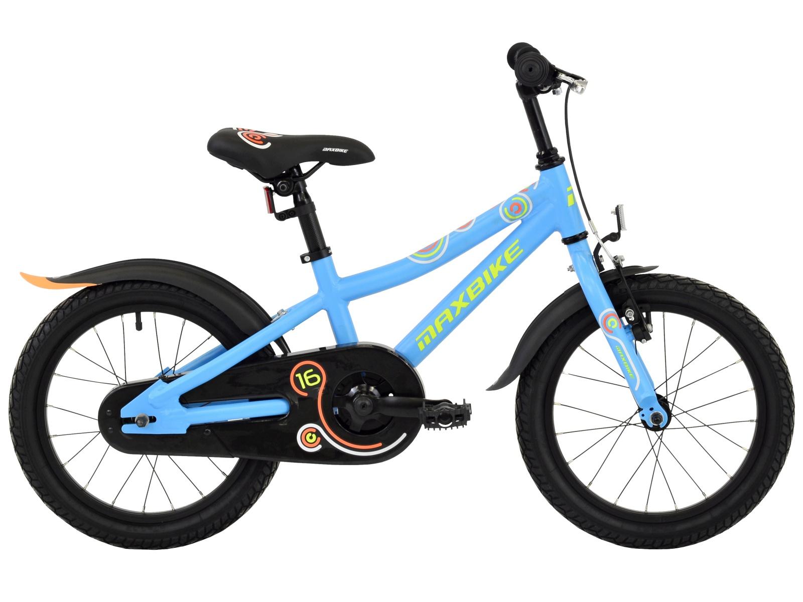 "Detský bicykel MAXBIKE 16 ""2019 - modrý"