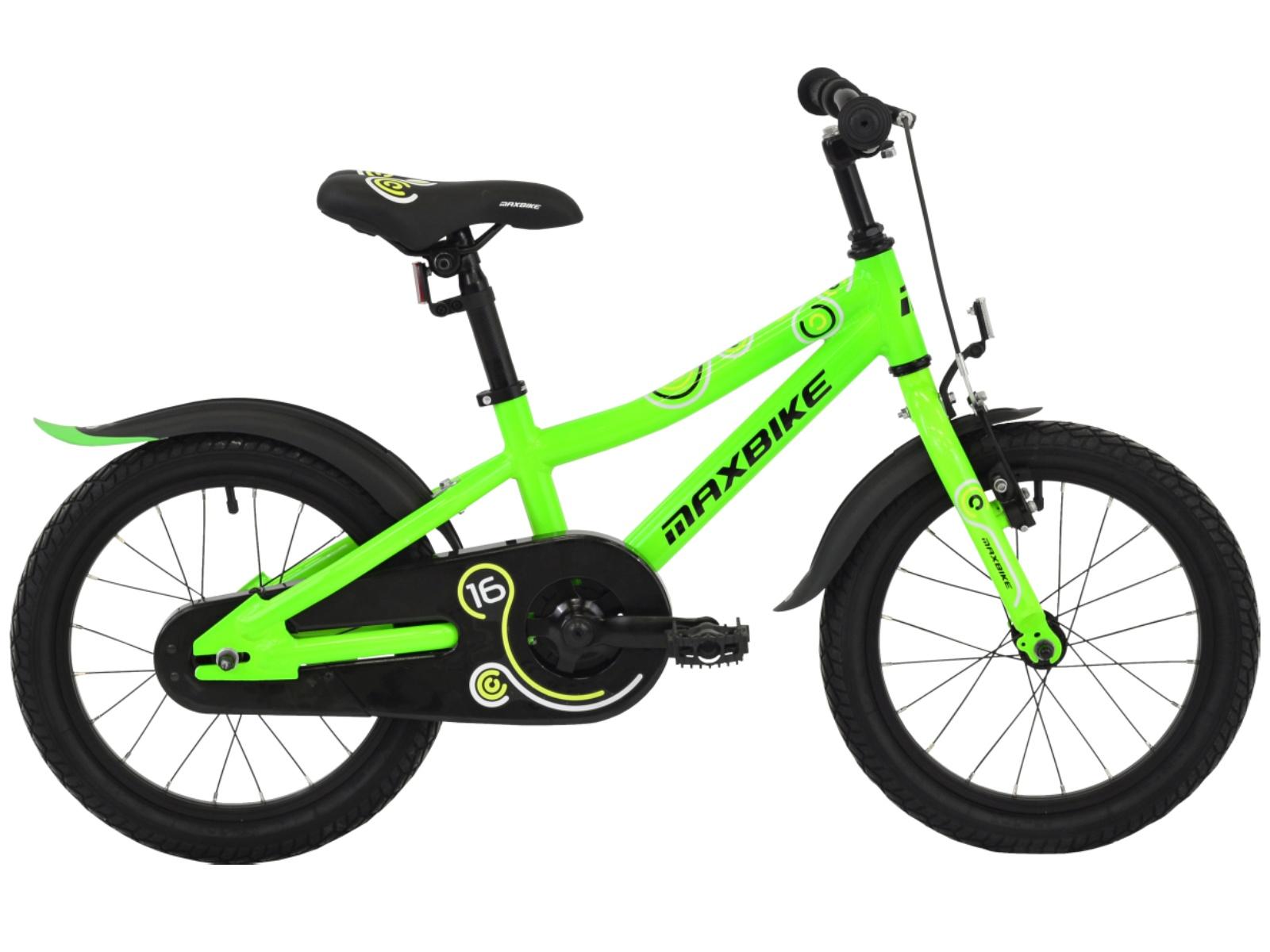 """Detský bicykel MAXBIKE 16 """"2019 - zelený"""
