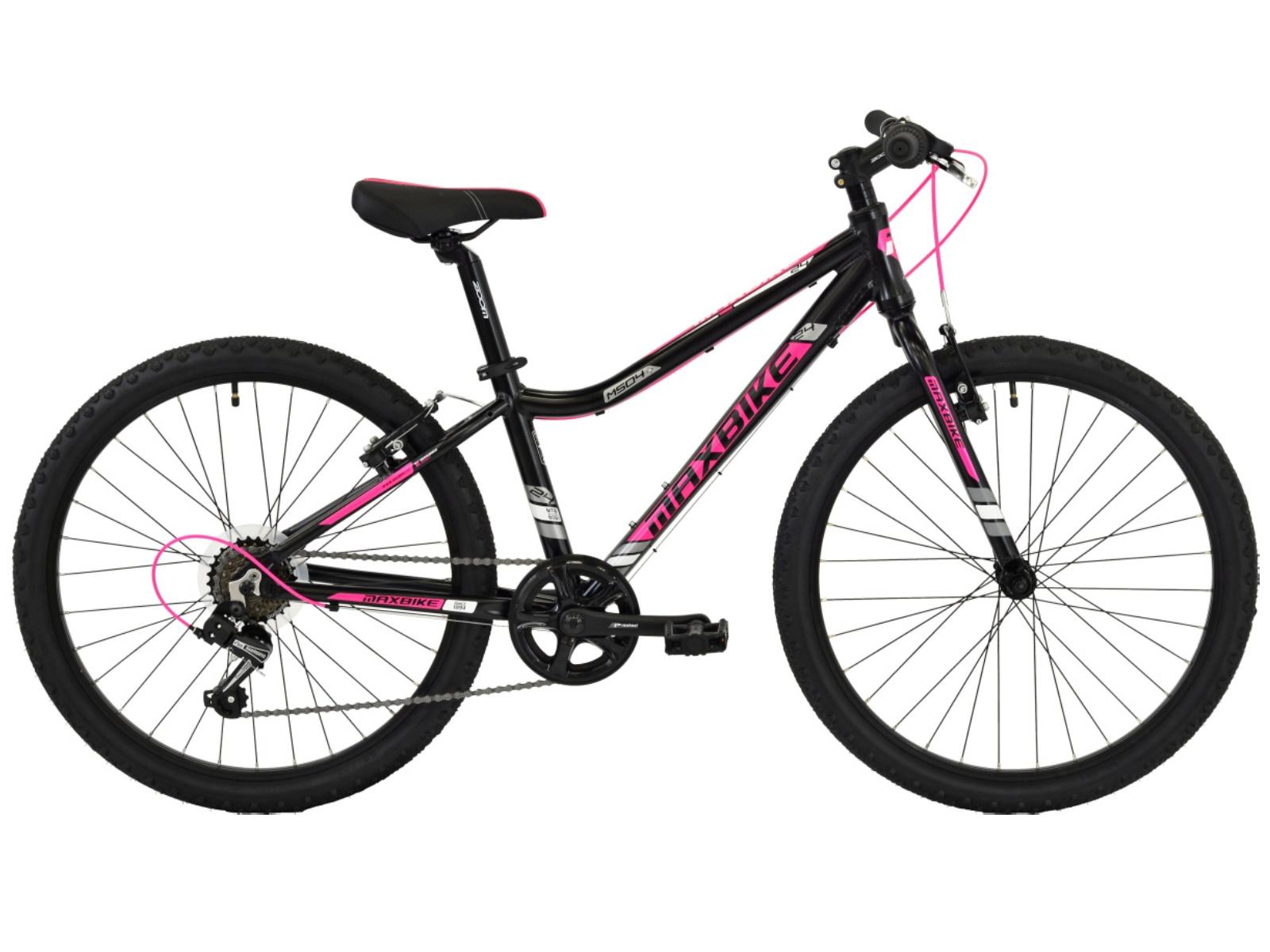 "Detský bicykel MAXBIKE Denali 24 ""- reflexne žltý"