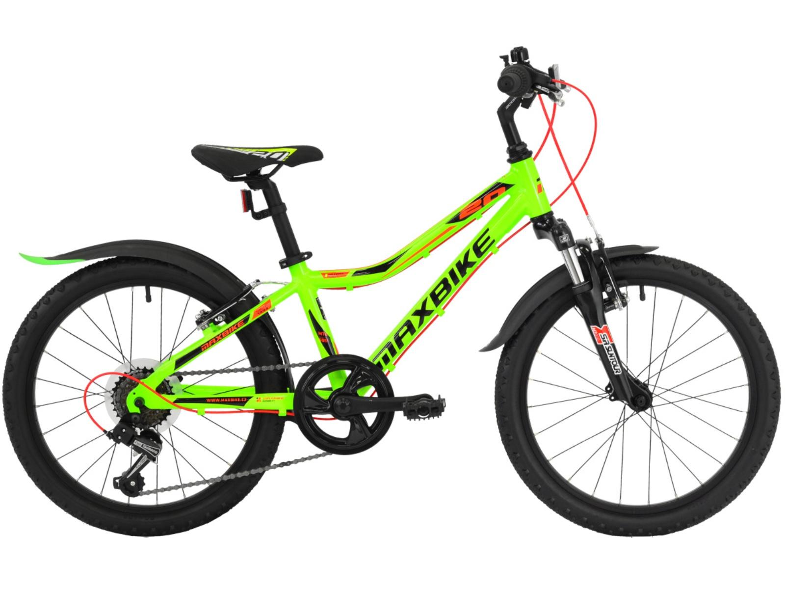 "Detský bicykel MAXBIKE Junior 20 ""SF"