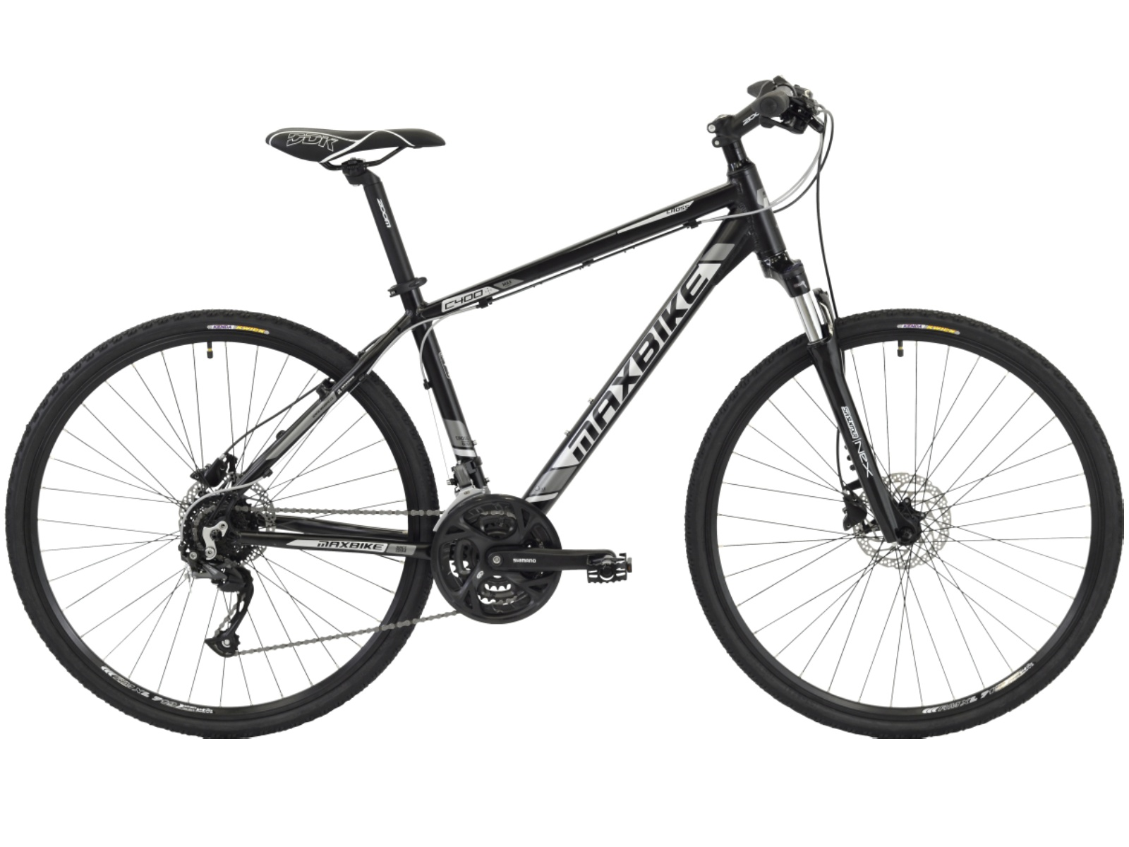 """Krosový bicykel MAXBIKE Fraser modré - veľ. rámu 16"""""""