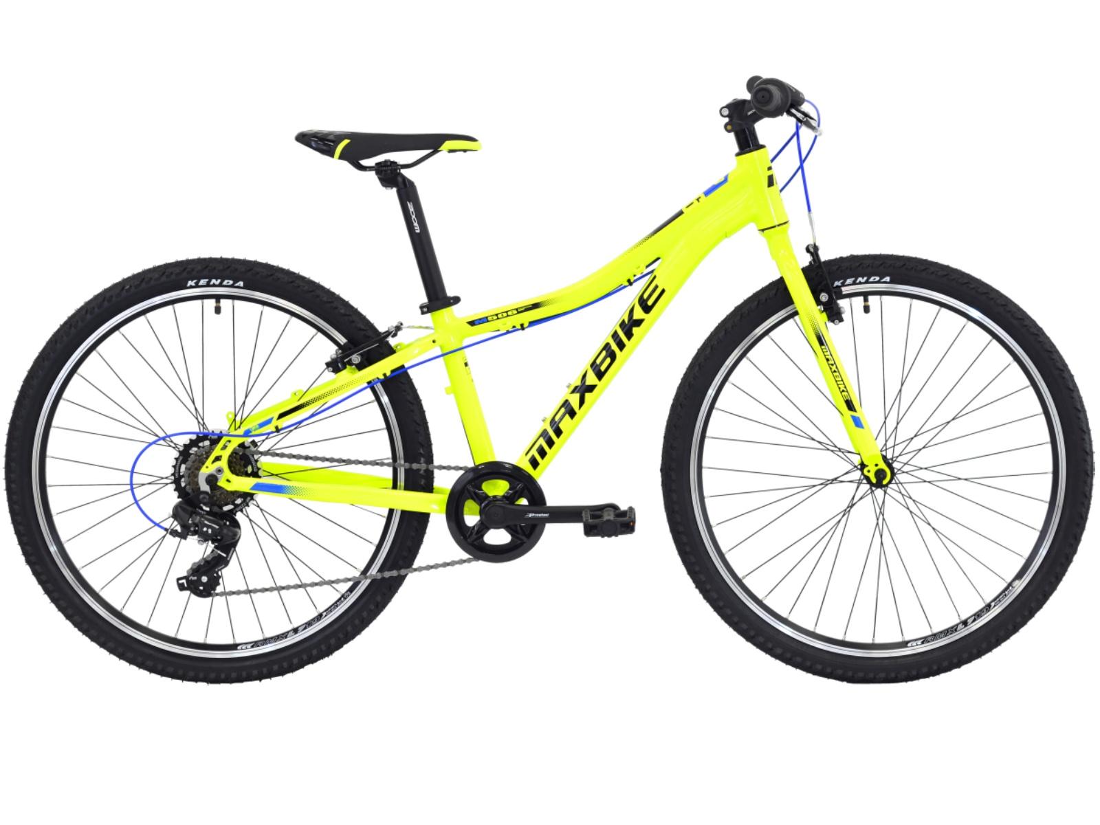 """Detský bicykel MAXBIKE Denali 26"""" modrý - veľ. rámu 13"""""""