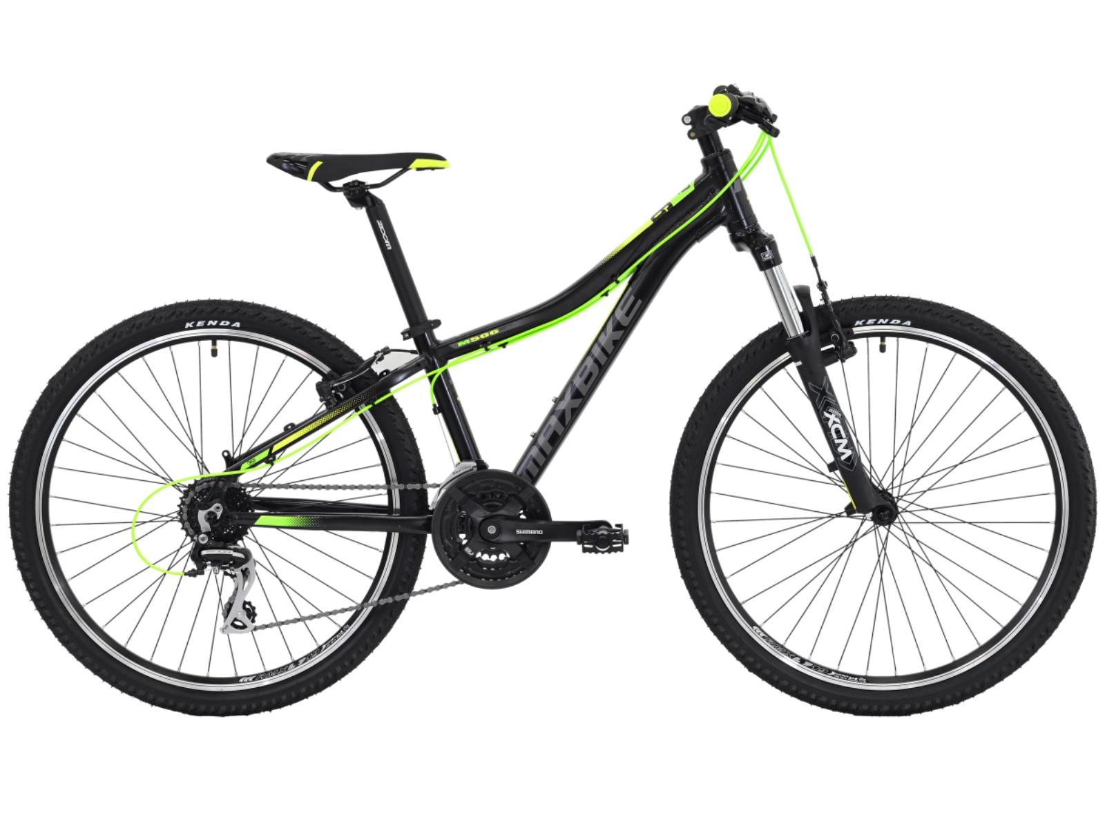"Detský bicykel MAXBIKE Nimba 26"" žltý - veľ. rámu 13"""
