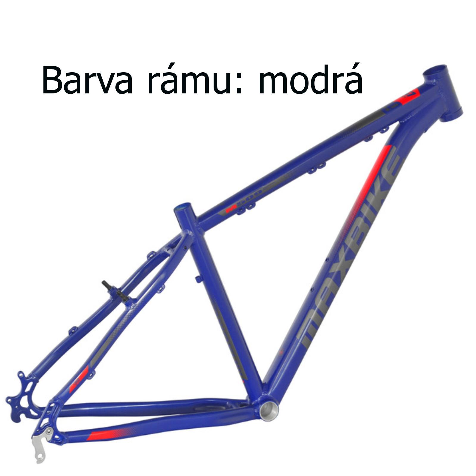 """Horský bicykel MAXBIKE Loma 26"""" modrý - veľkosť rámu 15"""""""