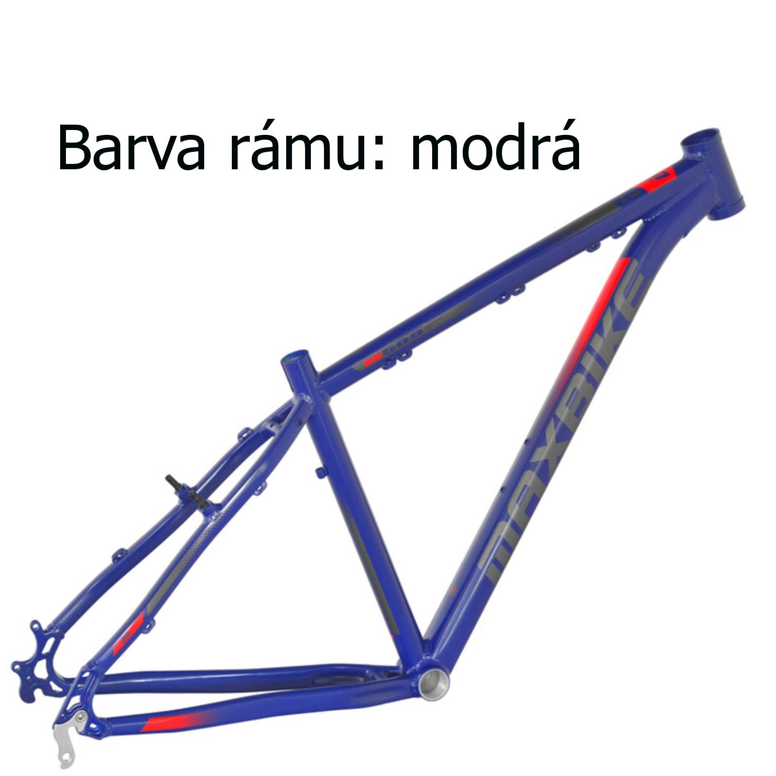 """Horský bicykel MAXBIKE Nimba 26"""" modrý - veľ. rámu 17"""""""
